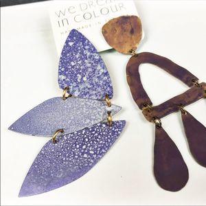 NEW Anthropologie x We Dream in Colour Earrings